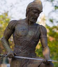Saint Ignatius Statue