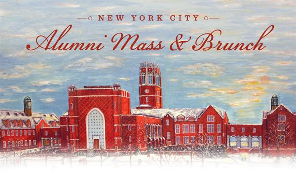 New York City Alumni Mass Amp Brunch Alumni
