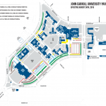 John Carroll University Campus Map.Parking Maps Campus Maps