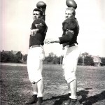Quarterbacks Joe Petkovic & Rudy Schaffer 1948