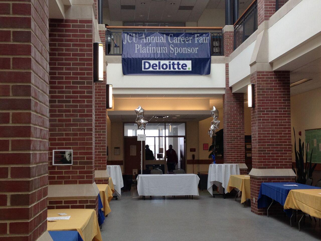 JCU Annual Career Fair Center For Services