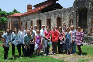 Students in Dr. Rodney Hessinger's history class visit the Dominican Republic