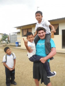 Aaron & kids