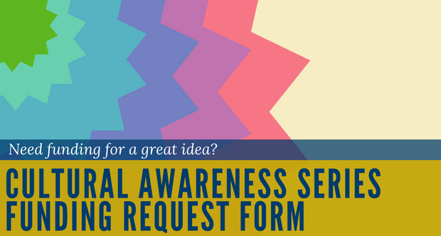 Cultural Awareness Series Funding Request Form