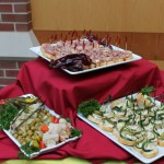 Spanish tapas at the Welcome Dinner