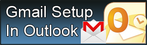 Gmail Setup In Outlook Button