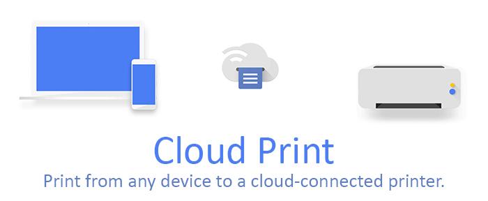 Wireless Printing (Google Cloud Print)