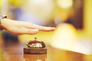 Hotel Lobby Bell