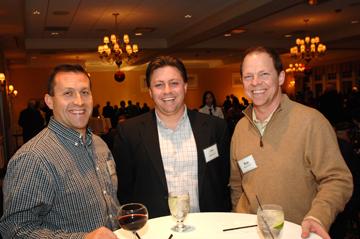 Tom Doyle '92, Dan Hewitt '91, and Stan Rhodes '91
