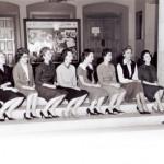 Girls in line