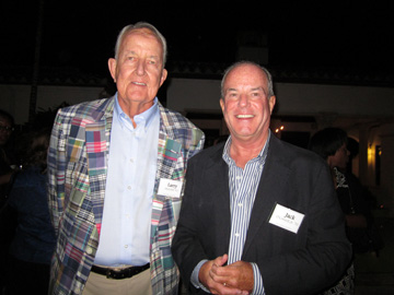 Larry Mulvihill '61 and Jack O'Connell Jr. '70
