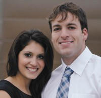 Sarah Navarro and Blaine Balderston plan to marry Oct. 19.
