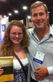Fligge and author Micah Sparks