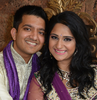 Maulin Shah and Megha Gandhi recently became engaged.