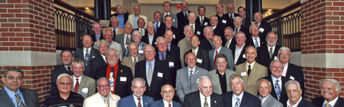 Classmates at our 50th reunion in 2009