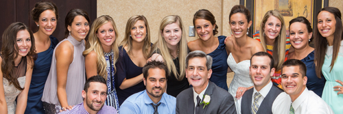 The Gittinger - Mooney wedding