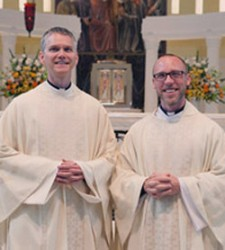 Frs. Stayer and Gilger at their ordination