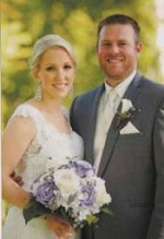 Jillian Novak and Brandon Knittle were married May 31 at Hawthorne Valley Country Club in Solon, Ohio.