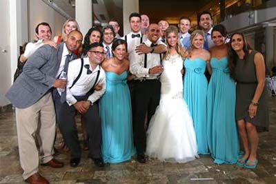 The wedding of Dr. Matthew and Mrs. Amanda Narducci