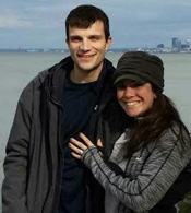 Classmates Jordan Kern and Jessica Morris became engaged in October 2014.