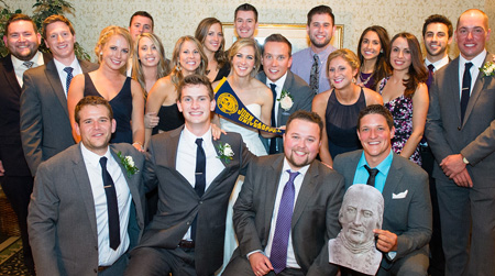 Scott Matthews '09 and Katie Weppner '09 married near Buffalo, N.Y. on Sept. 27, 2014.