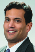 Arjun Kampani '95G is vice president and general counsel for the land systems business unit of General Dynamics.