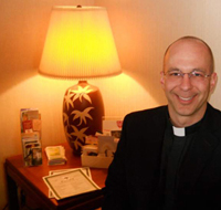 Rev. Kevin Fazio is the new priest at St. Alphonsus in Wexford, Pa.
