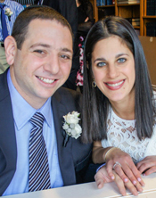 Lindsay Kramer and Howie Schulman were married Jan. 9, 2015.