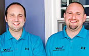 Brothers Harley '98, '01G and Aaron '02 Magden started their own window, siding, and door business called Window Nation.