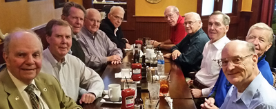 The first class luncheon, which is expected to be an annual event, was held at the Pub in Beachwood, Ohio, in November.