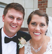 Meghan (Danahy) '08 and Michael Rossetti '09 were married on Aug. 15, 2015, in Saint Francis Chapel.
