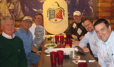 From left: Kennedy, Zammit, Carroll, Robinson, Brennan, Doherty, and Frendo