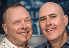 James Francis Purcell Jr. '80 and Barry Neal Steinhart were married Jan. 20 at the Manhattan Marriage Bureau in New York.