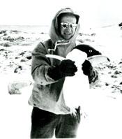 Fr. Birkenhauer in Antartica