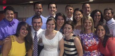 The Scholla-McMahon wedding