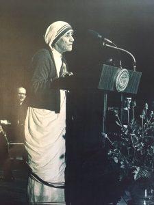 Mother Teresa Address