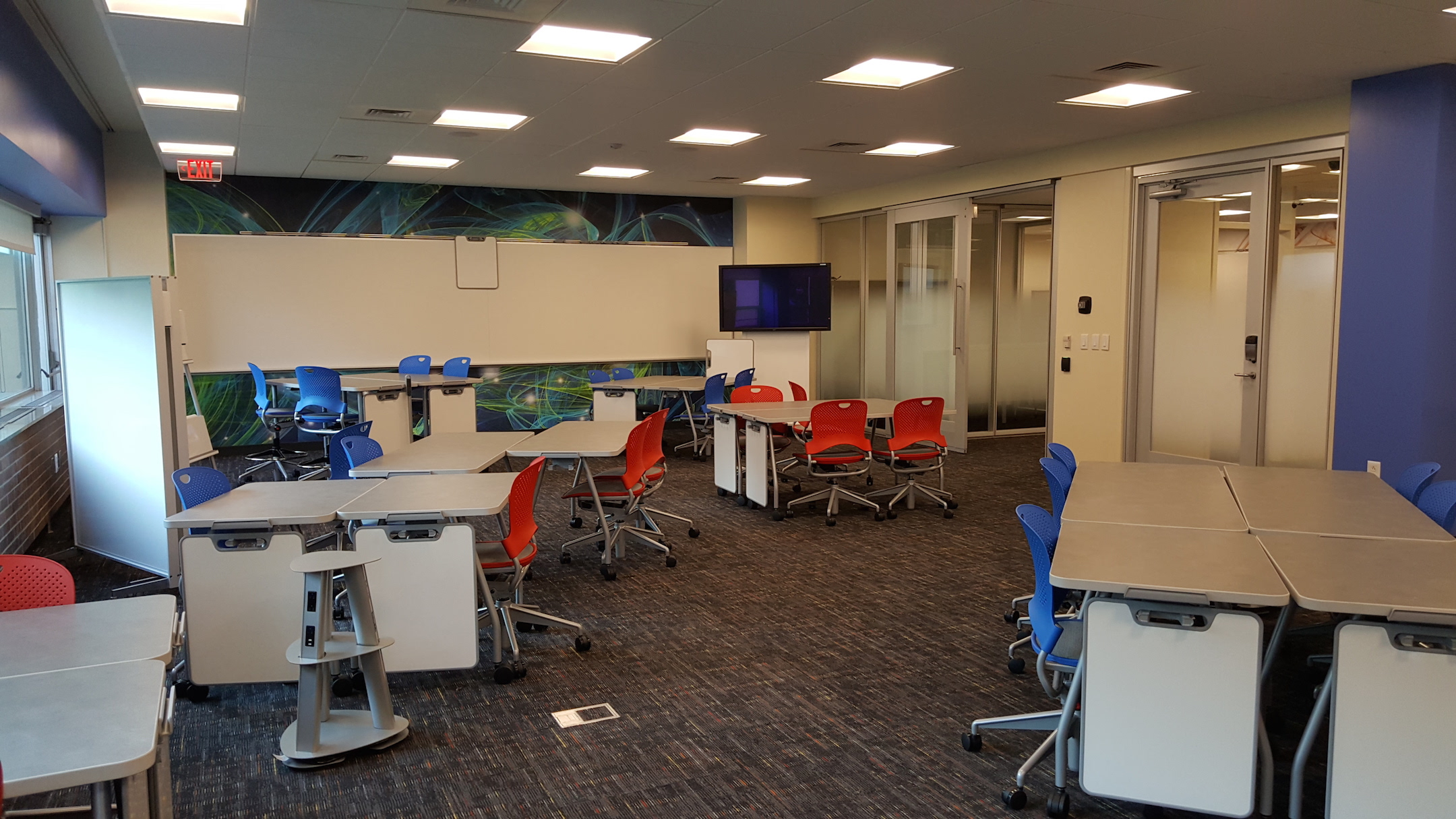 New Creativity And Entrepreneurship Classroom Opens In Grasselli Library