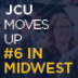 "JCU Moves Up to #6 in the Midwest: U.S. News & World Report's 2018 ""Best Colleges Guide"""