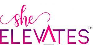 She Elevates pink logo