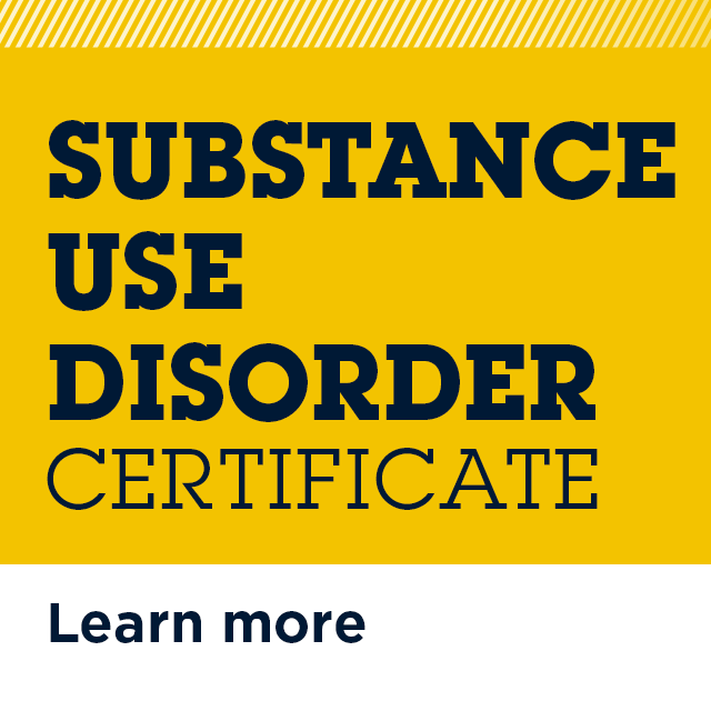 Substance Use Disorder Certificate