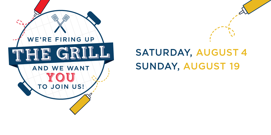 Join us for our summer visit events, Cookouts on the Quad, on August 4 and August 19