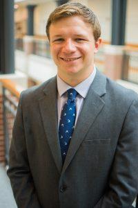JCU graduate Nathaniel Heiden