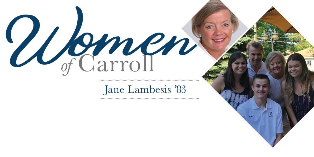 Women of Carroll: Jane Lambesis 1983