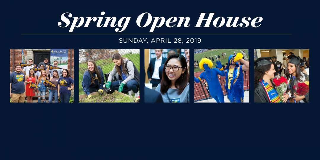Join us for our Spring Open House on Sunday, April 28