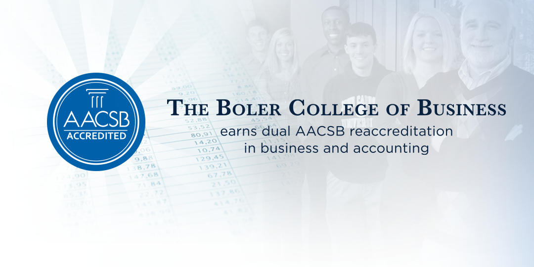 John Carroll's Boler College of Business earns dual AACSB reaccreditation.
