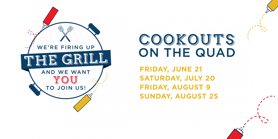 Grill graphic with