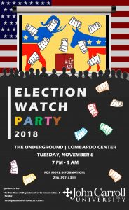 Poster of Election Watch Party 2018
