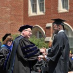 Commencement, May 2012.