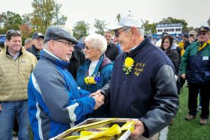 Homecoming Weekend, Farewell to Tony DeCarlo '66G, October 2012
