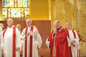 125th Mass of the Holy Spirit – September 2011.